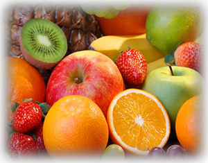 These brightly coloured fruits are all high in antioxidants