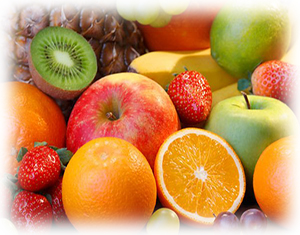 Brightly coloured fruits and vegetables are rich in the vitamins and antioxidants your skin needs.